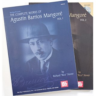 The Complete Works of Agustin Barrios Mangore Vol.1+2 バリオス・マンゴレ全集2巻セット