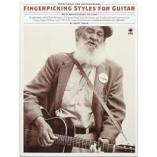 Fingerpicking Styles For Guitar: Traditional And Contemporary (40th Anniversary Edition)