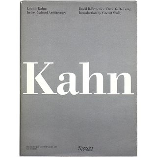 <img class='new_mark_img1' src='//img.shop-pro.jp/img/new/icons5.gif' style='border:none;display:inline;margin:0px;padding:0px;width:auto;' />Louis I. Kahn: In the Realm of Architecture ルイス・カーン
