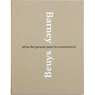 <img class='new_mark_img1' src='//img.shop-pro.jp/img/new/icons5.gif' style='border:none;display:inline;margin:0px;padding:0px;width:auto;' />Matthew Barney & Joseph Beuys: All in the Present Must Be Transformed