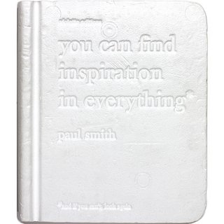 <img class='new_mark_img1' src='https://img.shop-pro.jp/img/new/icons5.gif' style='border:none;display:inline;margin:0px;padding:0px;width:auto;' />Paul Smith: you can find inspiration in everything*: (*and if you can't, look again!)