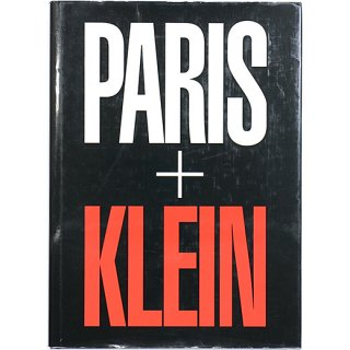 <img class='new_mark_img1' src='https://img.shop-pro.jp/img/new/icons5.gif' style='border:none;display:inline;margin:0px;padding:0px;width:auto;' />William Klein: Paris + Klein ウィリアム・クライン:パリ+クライン