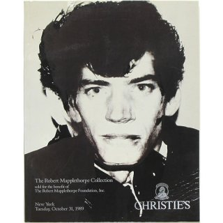 <img class='new_mark_img1' src='https://img.shop-pro.jp/img/new/icons58.gif' style='border:none;display:inline;margin:0px;padding:0px;width:auto;' />The Robert Mapplethorpe Collection: Christie's New York, October 31, 1989