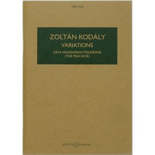 Zoltan Kodaly: Variations on a Hungarian Folksong (The Peacock) コダーイ