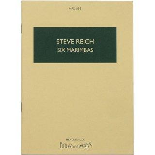 Steve Reich: Six Marimbas スティーヴ・ライヒ:6台のマリンバ
