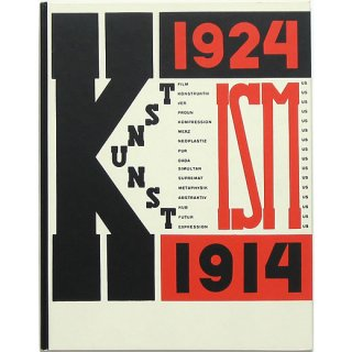 Die Kunstismen 1914-1924 [The Isms of Art 1914-1924] 芸術のイズム