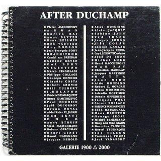 After Duchamp アフター・デュシャン