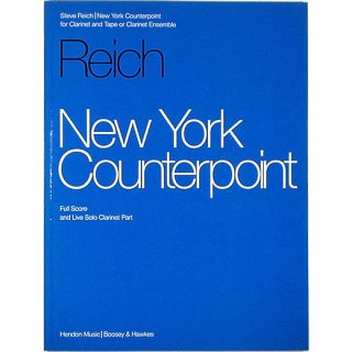 New York Counterpoint ニューヨーク・カウンターポイント