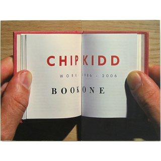 Chip Kidd: Book One: Work: 1986-2006 チップ・キッド