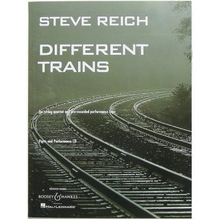 <img class='new_mark_img1' src='https://img.shop-pro.jp/img/new/icons31.gif' style='border:none;display:inline;margin:0px;padding:0px;width:auto;' />Steve Reich: Different Trains スティーヴ・ライヒ:ディファレント・トレインズ