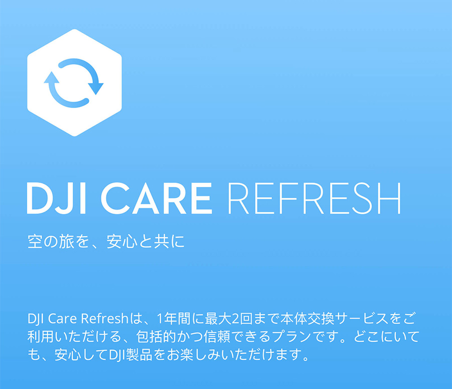 DJI CARE REFRESH | MAVIC MINI