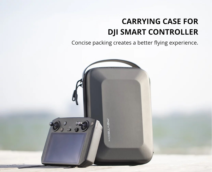 CARRYING CASE FOR DJI SMART CONTROLLER -  Concise packing creates a better flying experience.