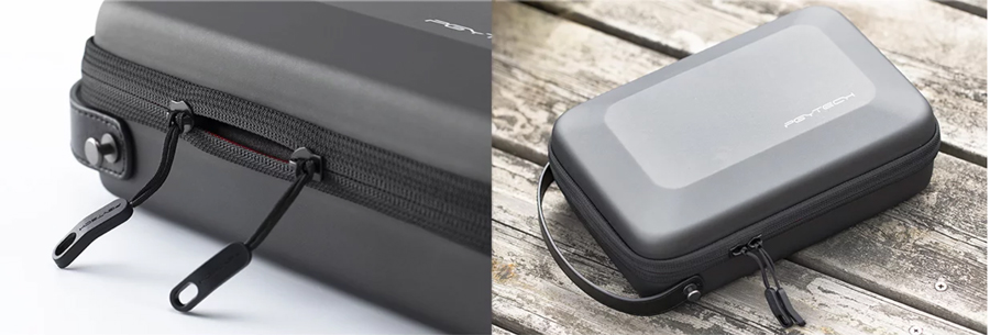 With a level three to four waterproof performance, the PGYTECH Carrying Case for the DJI Smart Controller protects all items inside the case from being wetted.