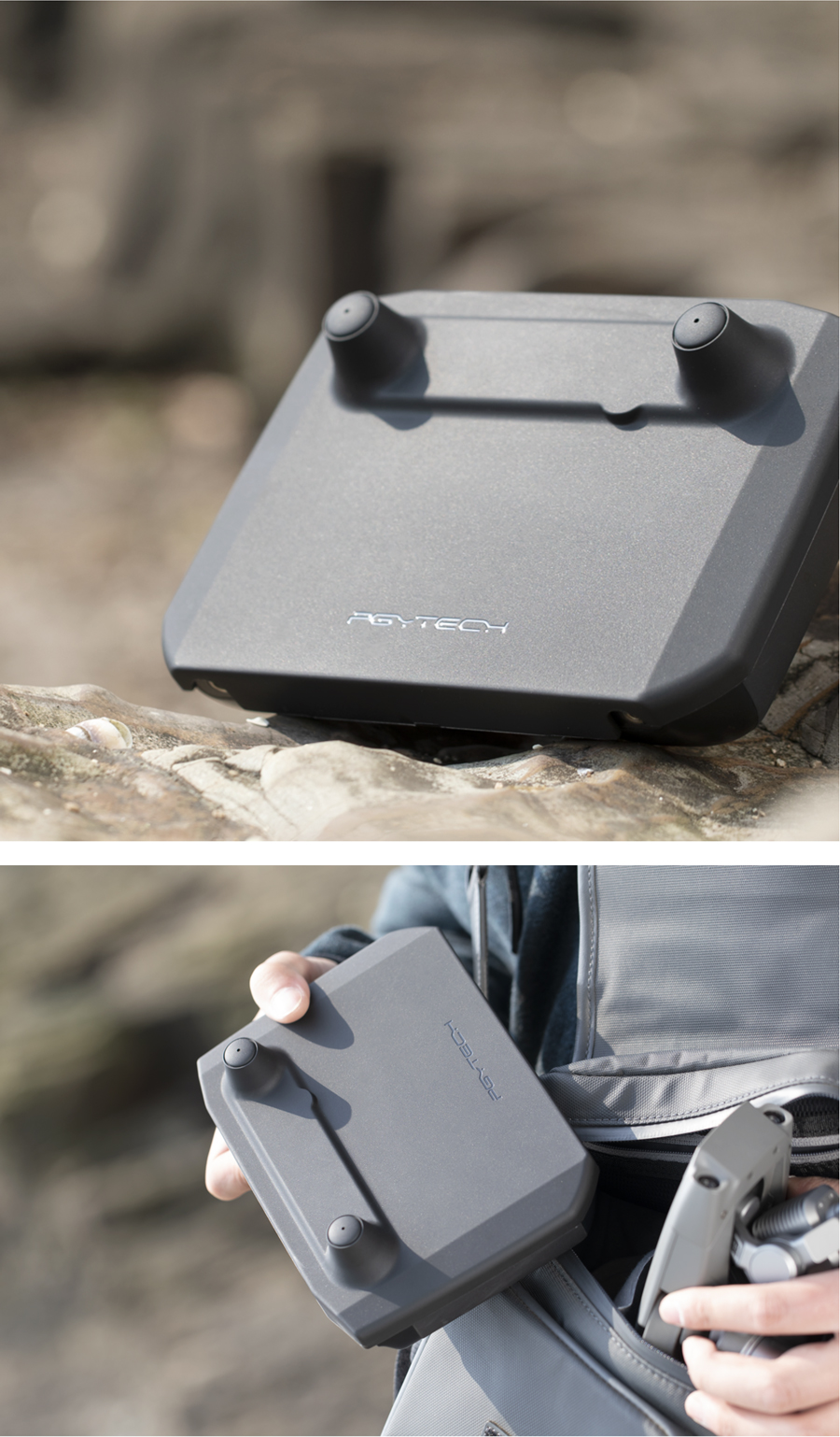 Easy to install and carry