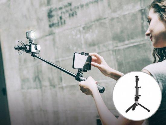 PGYTECH アクションカメラ用 エクステンションポール & ミニ三脚 プラス [DJI Pocket 2/Osmo Action]