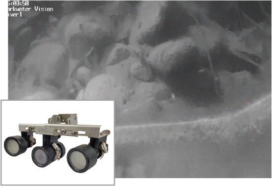 水中赤外線カメラ