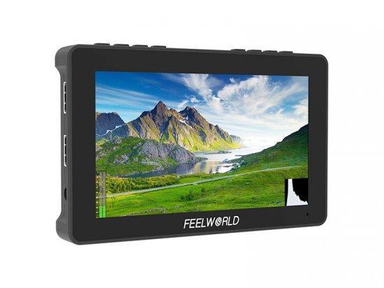 FEELWORLD F5 Pro 5.5インチ タッチスクリーン DSLRカメラフィールドモニター