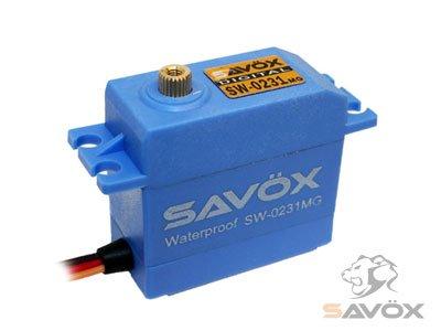 SW-0231MG ウォータープルーフ デジタルサーボ