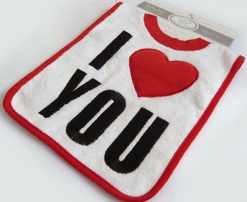 【koala baby】コットンビブ*I LOVE YOU*