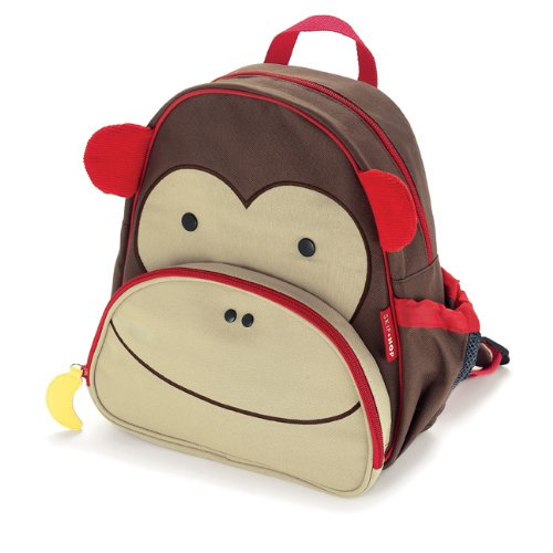 【Skip Hop】 Little Kid Backpack-モンキー