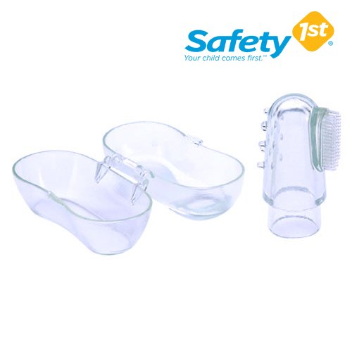 【Safety1st】Fingertip Toothbrush *指歯ブラシ