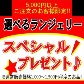 【無料プレゼント】5000円以上ご注文の方限定★選べるランジェリー<img class='new_mark_img2' src='https://img.shop-pro.jp/img/new/icons24.gif' style='border:none;display:inline;margin:0px;padding:0px;width:auto;' />