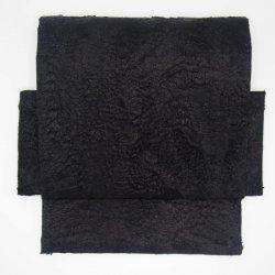 二部式帯 エコファー ブラック