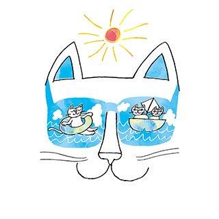 ポストカード【やっぱり、海がすき。】* おかべてつろう