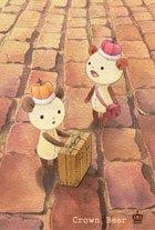 ポストカード【Crown Bear 街】*Tea Drop