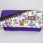 キーケース 紫 * ヒメジョオン