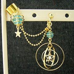 金環日時計の耳飾り * DayBreak