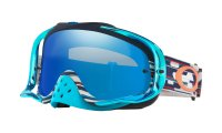 OAKLEY GOGGLE CROWBAR MX Tld Code Rwb Black Ice Iridium