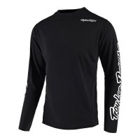 Troy Lee Designs 18y YOUTH SPRINT JERSEY BLACK XS
