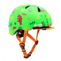bern TIGRE ALL SEASON SATIN GREEN DINO XXS
