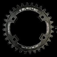 Burgtec 96/64MM PCD Thick Thin Chainring (Shimano)