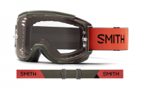 SMITH ゴーグル Squad MTB Sage / Red Rock
