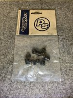 PROBLEMSOLVERS D-C-R BOLTS 10mm D-HEX w/B-GUARD AL BLACK 5PC