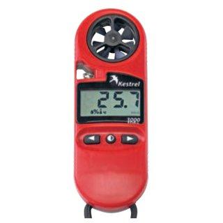 【TA411RB】温度・湿度・風速計(ケース・ストラップ・電池付)