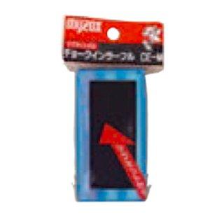 【CE-M】チョークインラーフル(チョークが入る黒板消し 白赤/マグネット付き)