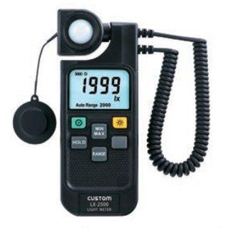 【LX-2500】デジタル照度計
