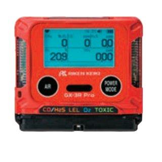 【GX-3R Pro AL】ポータブルマルチガスモニター充電池仕様 4成分