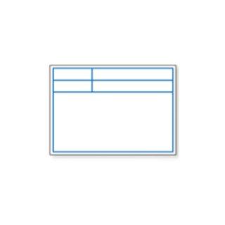 【D-1WL】伸縮式ビューボード(ホワイト)(盤面:白色)