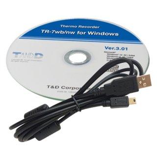 【SO-15C1】おんどとりソフトウェアセット USBケーブル付