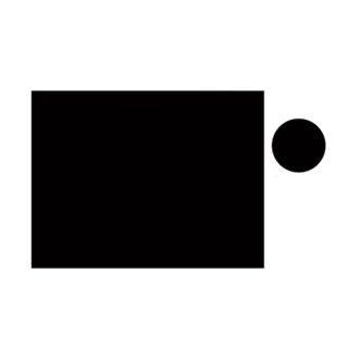 【W-9ER】現場写真工事用木製黒板耐水ERタイプ(無地/ヨコ)
