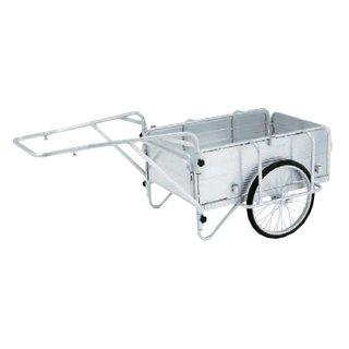 【HKM-150】アルミ製折りたたみ式リヤカー/150kg