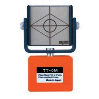 【TT-0M】定点観測用反射シート マグネットタイプ(オフセット 0mm)