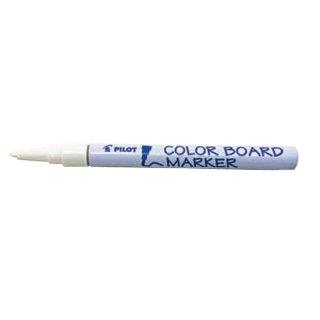 【DX-CBMF-25W】カラーボードマーカー細字 白 1本