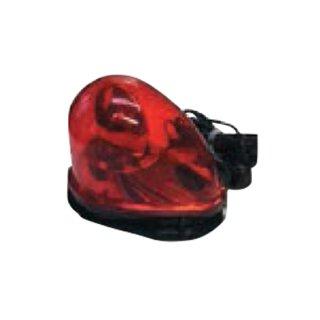【SRLED-12&24R】LED着脱式回転灯 赤