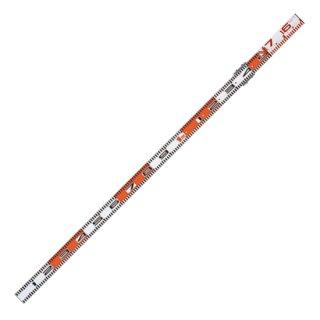 【K-160】検測ロッド 150+160cm(アルミ製 1,230g)