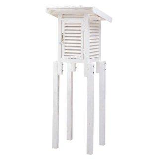 【30型/小型】30型小型百葉箱/片屋根